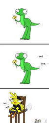 A funny or dumb comic (poll) by PurpleMonsterEyJ