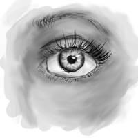 Eye tablet by Uberkayt