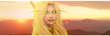 Blood Elf Signature by Uberkayt