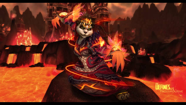 Panda Shaman Wallpaper by Uberkayt