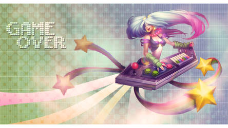 Arcade Sona Wallpaper by Uberkayt