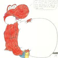 Yoshi Inflation/Fattening Part 7A by BiggestYoshifan
