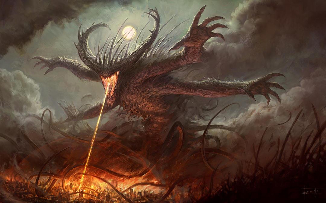 Chaos Demon by 000Fesbra000