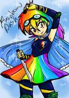 Magical Girl Rainbow Dash~ by AdazedRainbow