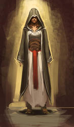 female assassin by sketcheth