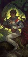 Astronaut by sketcheth