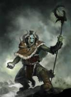 Orc Shaman by sketcheth