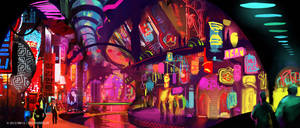 red lights by sketcheth