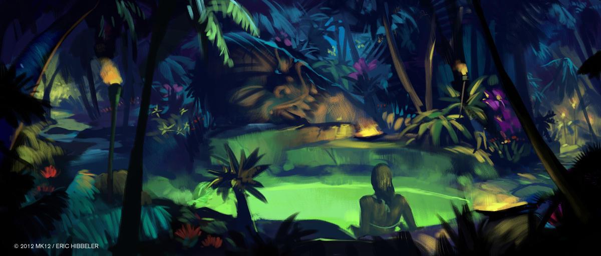 tiki hot tub by sketcheth