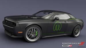 Challenger SRT8 green mod 2 by RJamp