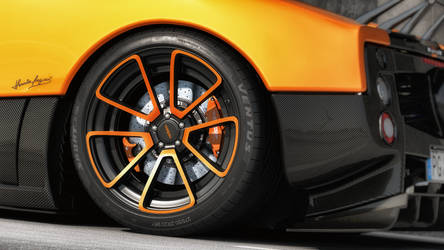 Zonda Cinque Roadster by RJamp