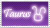 Taurus Stamp by Xhilyn
