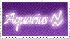 Aquarius Stamp by Xhilyn