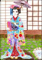 Hana no Maiko by KiGaMin