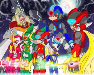 ''MegaMan Zero 3 - Two Sides'' by StreamX9