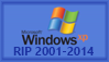 RIP Windows XP Stamp by SailorTrekkie92