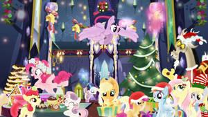 Hearth's Warming Party Wallpaper by SailorTrekkie92