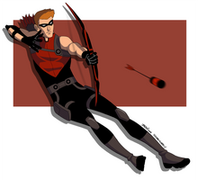 Young Justice: Red Arrow by scribblywobbly
