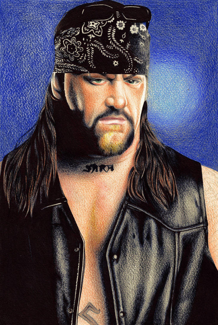 The Undertaker American Badass by tyller16
