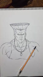 Guile Street Fighter by tyller16