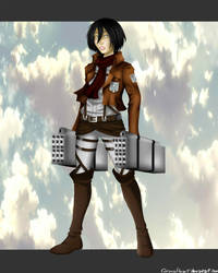 Official Mikasa Yes by CorpusHeart