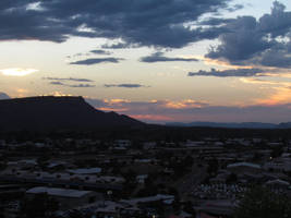 ANZAC Hill - Sunset at ANZAC Hill by TricoloreOne77