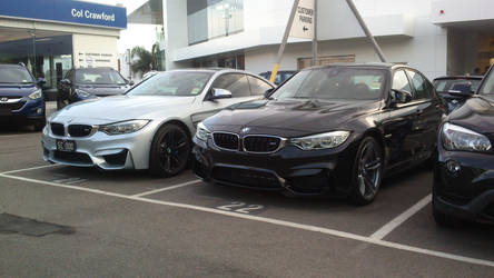 BMW M3 and BMW M4 by TricoloreOne77