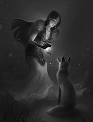 Kitsune by beagler9