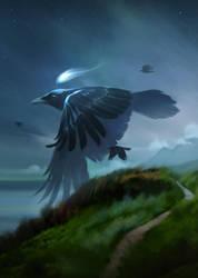 Crow God by beagler9