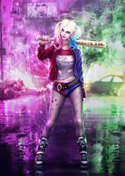 Suicide Squad Harley Quinn Fan Art by Zerox-II