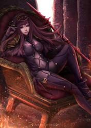 Le Queen and Gatekeeper by Zerox-II