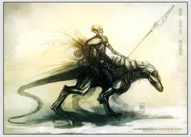 Kal-Thurad Rider by Tsabo6