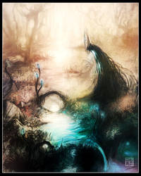 Lifeless Swamp-Forest by Tsabo6