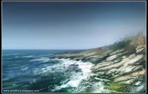 Sea coast by Tsabo6