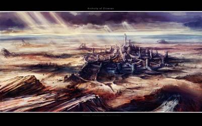 Archcity of Zilveren by Tsabo6