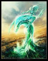 Flood Elemental by Tsabo6