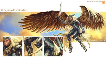 Angel details by Tsabo6