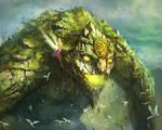 Ancient guardian by Tsabo6