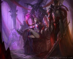 Darkelf Matriarch by Tsabo6