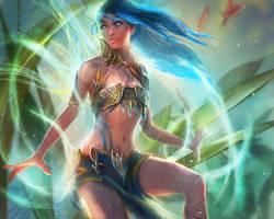 Magical faerie by Tsabo6