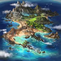 Island map by Tsabo6