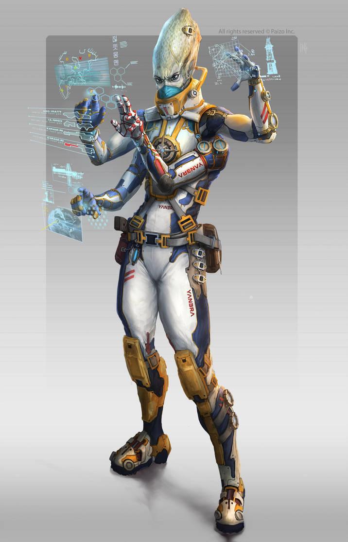 Starfinder hacker by Tsabo6