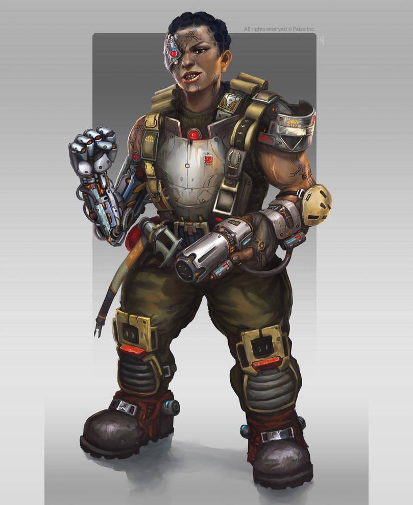 Augmented dwarf by Tsabo6