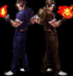 Kyo-1 and Kyo-2 by topdog4815