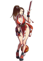 Mai Shiranui SNK Heroines by topdog4815
