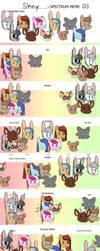 OC Spectrum Meme V3 by ShinyRaupy