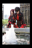 Two of Hearts - Fountain by Kuragiman