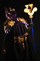 Hilda Hyrule Warriors style cosplay - back by Nafuri-chan