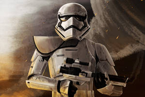 Stormtrooper First order by Dahcoomicman