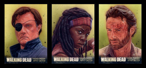 The Walking Dead by roberthendrickson